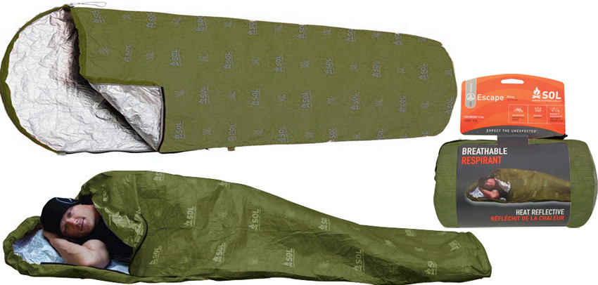 Adventure Medical Kits - SOL Escape Bivy - Vert