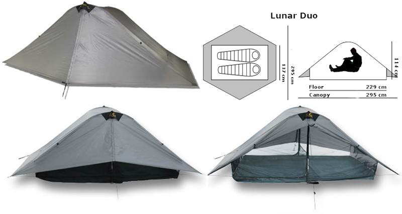 Six Moon Designs - Lunar Duo - Explorer