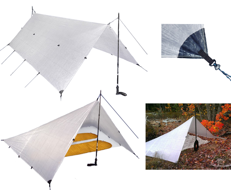 Hyperlite Mountain Gear - Flat Tarp 2.4 x 3 m