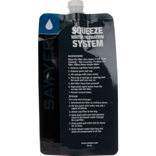 Sawyer - Squeezable Pouch 1 litre (x3)