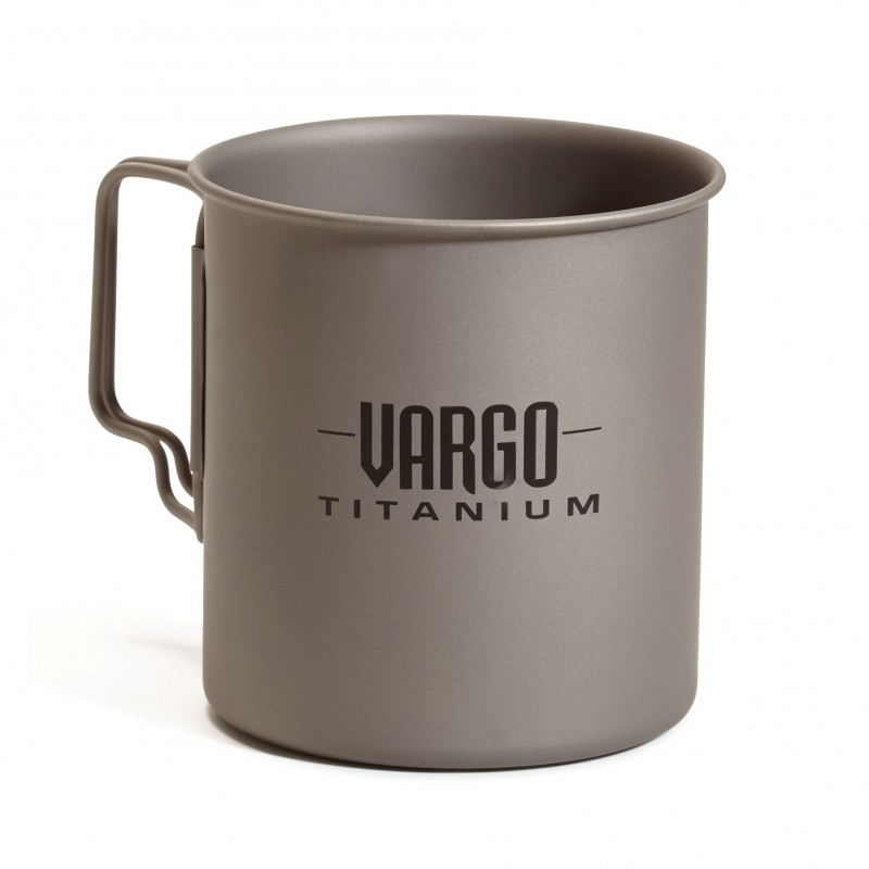 Vargo - Travel Mug 450ml titane