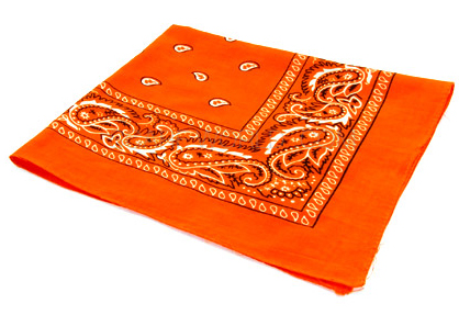 Arklight Design - Bandana 100% coton - Orange