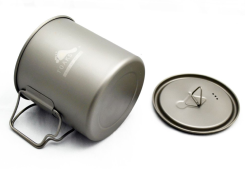 Toaks - Titanium 650 ml Pot - 95 mm