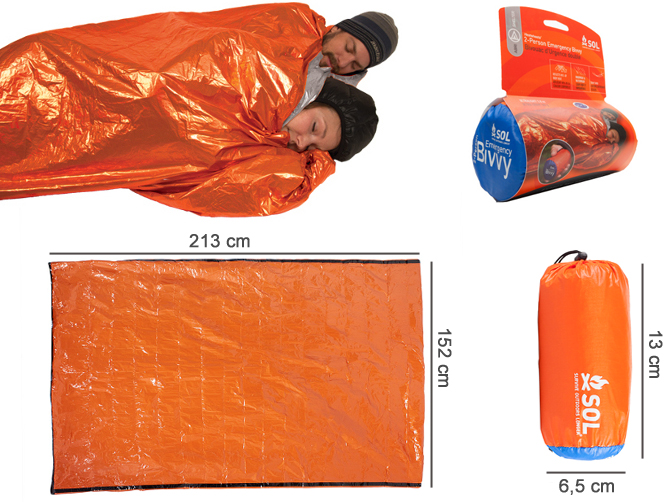 Adventure Medical Kits - SOL Emergency Bivy 2 personnes