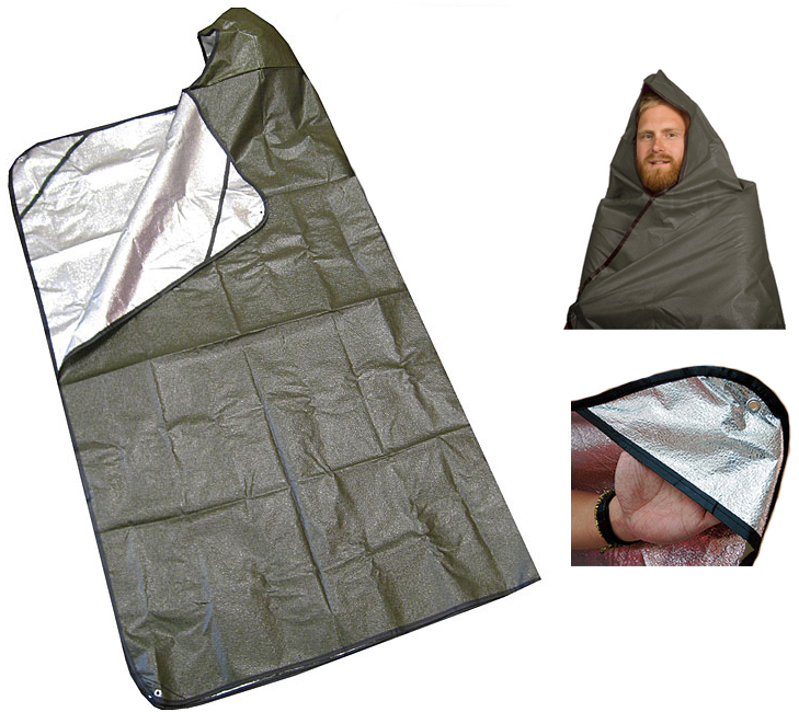 Grabber - All Weather Blanket avec capuche ©