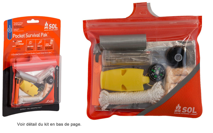 Adventure Medical Kits - SOL Pocket Survival PAK (Doug Ritter)