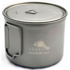 TOAKS - Titanium 900 ml Pot 130mm