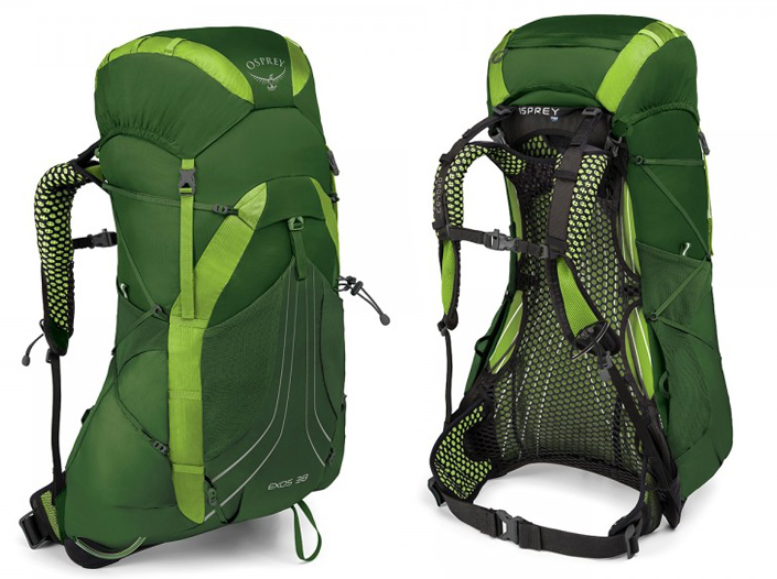 Osprey Exos 38 - Tunnel Green