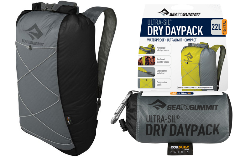 Sea to Summit - Ultra Sil Dry Daypack 2018 - noir