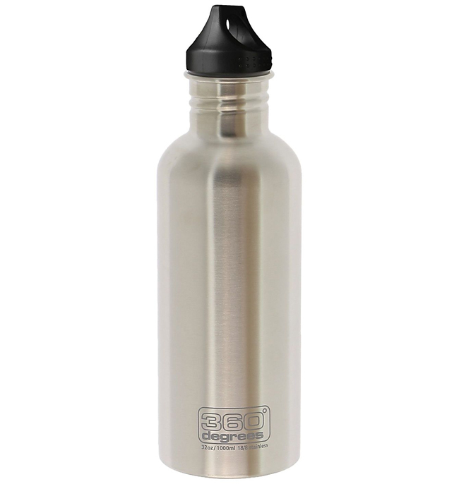 360 Degrees - Gourde Inox 1000 ml - couleur brut